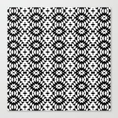 Black And White Mix Canvas Print