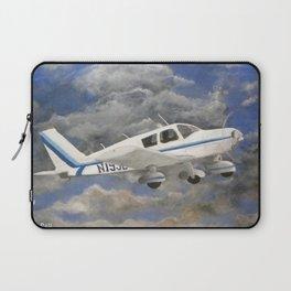 Soaring, Piper Cherokee Airplane Laptop Sleeve