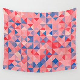 colorful Triangles 1 Wall Tapestry