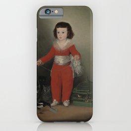 Manuel Osorio Manrique de Zuñiga - Goya iPhone Case