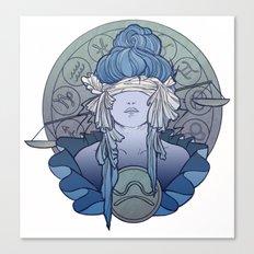 Zodiac Series   Libra Canvas Print