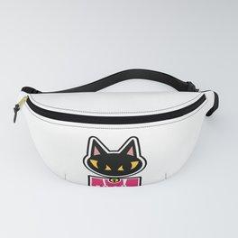 Black Cat Fanny Pack