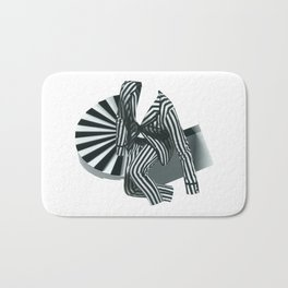 Mr. Zebra Bath Mat