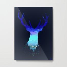 Deer Country Metal Print