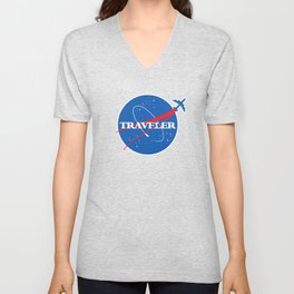 Interstellar Traveler Unisex V-Neck