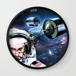 sitting in my tin can Wall Clock