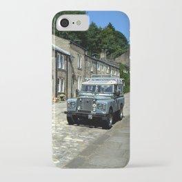 Haworth Main Street iPhone Case