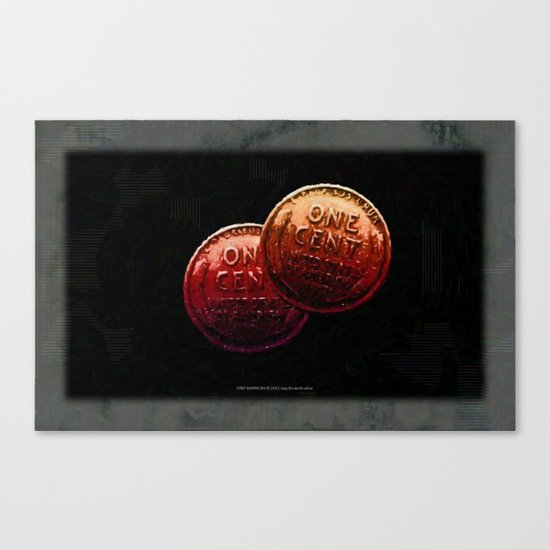 Just My 2 Cents    0008 Canvas Print