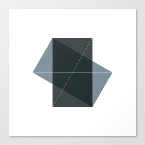 #131 Conversation – Geometry Daily Canvas Print