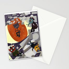 Nightmare Eyes Stationery Cards