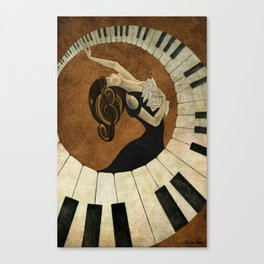 Key to the Soul Canvas Print