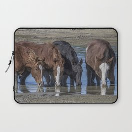 Mustangs Sharing What's Left of the Water Laptop Sleeve