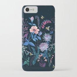 Bees Garden iPhone Case