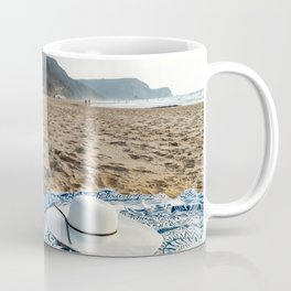 White Beach Hat, Summer Vacation, Holiday Time, Beauty Accessories, Sea And Ocean Relax, Mandala Coffee Mug