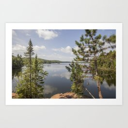 Beth Lake in the Boundary Waters Canoe Area Wilderness Art Print