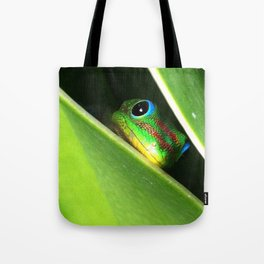Eyes in the Grass Tote Bag