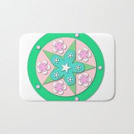Mandala of Peace Bath Mat