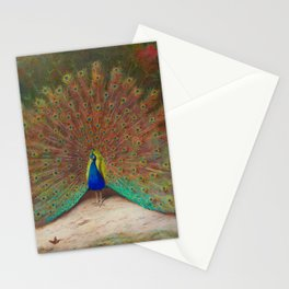 Peacock and Butterfly Stationery Cards