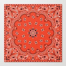 red bandana Canvas Print