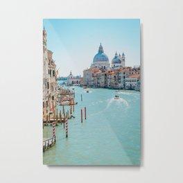 Italy - Venice - Gondola - travel photography & landscapes Metal Print