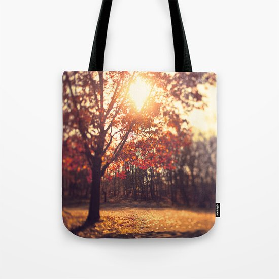Autumn Sun  Tote Bag
