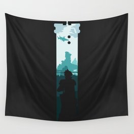 The Buster Sword Wall Tapestry
