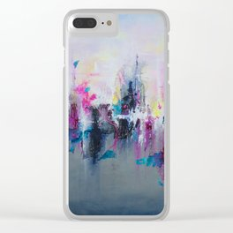 Breaking Boundaries - by Jenny Bagwill Clear iPhone Case