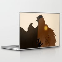 simba Laptop & iPad Skins featuring The Lion King by Rowan Stocks-Moore