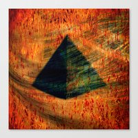 egyptian Canvas Prints featuring Egyptian wind by  Agostino Lo Coco