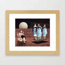 Boys go to Jupiter Framed Art Print