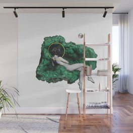 feeling love like a malachite does Wall Mural