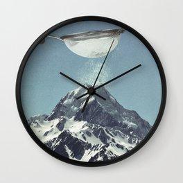 Sifted Summit Wall Clock