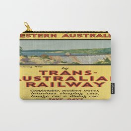 Vintage poster - Western Australia Carry-All Pouch