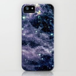 Ghostly Nebula iPhone Case