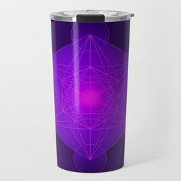 Metatron   Cube   Secret Geometry   Platonic   Matrix   Protects children Travel Mug
