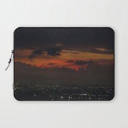 A Sky On Fire Laptop Sleeve