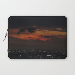 A Sky On Fire Laptop Sleeve