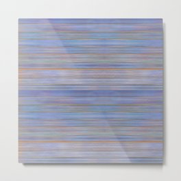 Colorful Abstract Stripped Pattern Metal Print