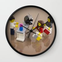 shopping Wall Clocks featuring Shopping by Pedro Nogueira