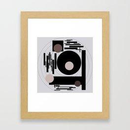 Optical Mink Framed Art Print