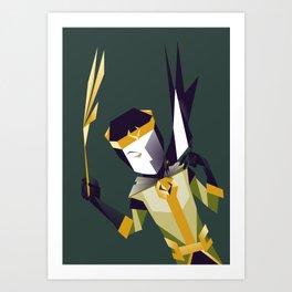 Kid Loki Art Print