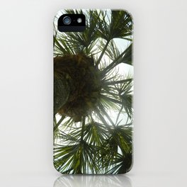 Palm Tree in The Sky iPhone Case