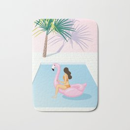 the midday heat Bath Mat