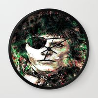 bowie Wall Clocks featuring BOWIE by Vonis