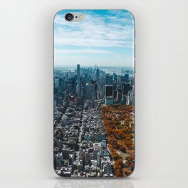 Central Park New York City Skyline iPhone Skin