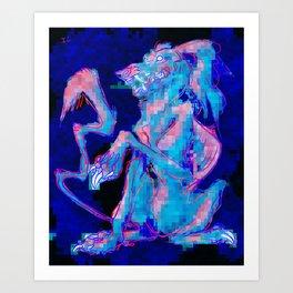 videodog Art Print