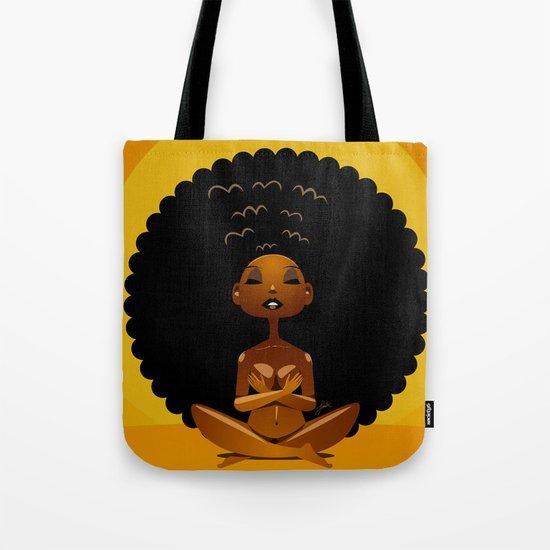 Spiritual AfroGirl Tote Bag