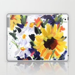 Sunflower Bouquet Laptop & iPad Skin
