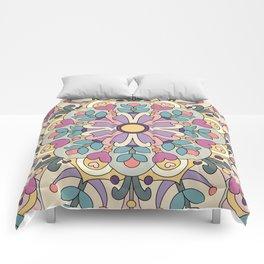 Happiness is Now Mandala Comforters