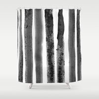 channel Shower Curtains featuring Channel by HENRIPRINTS